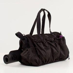 lululemon athletica Bags - Lululemon Legendary Duffel  In Black Circa 2012
